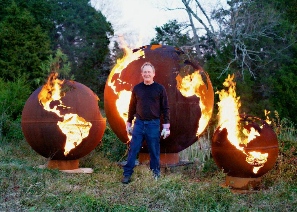 FIRE PIT ART by RICK WITTRIG