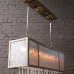Crystal Rains with Mica 5C Chandelier