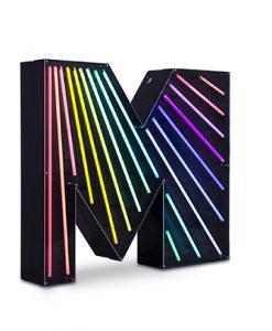 M Neon Lighting
