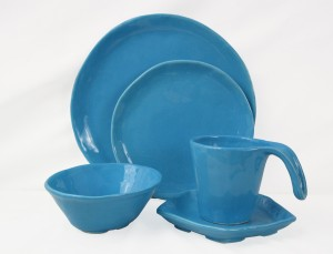 Buon Appetito Sea Blue 5pc Place Setting