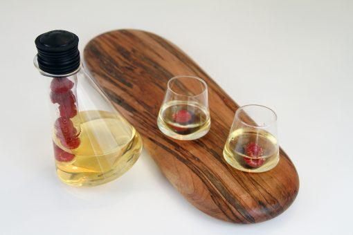 Sempli Aperitif glasses with Ambrosia Maple Tray