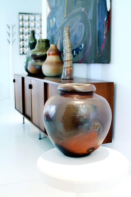 Miso Wood Fired Vase
